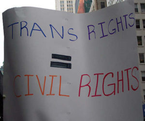 Trans rights = civil rights